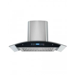 Homeglory Italino Electric Chimney - Silver/Black