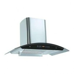 Homeglory Flue  Electric Chimney - Silver/Black