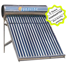 Sunshine Water Heater Solar 16 Tube
